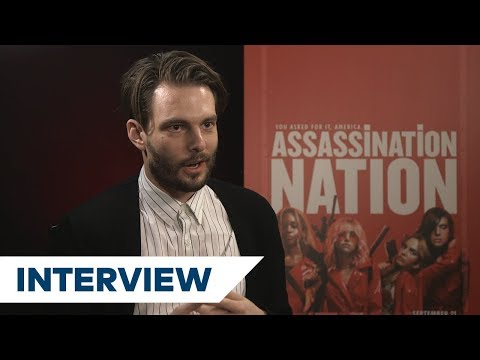 Sam Levinson On The Iconic Red Coats In Assassination Nation | TIFF 2018