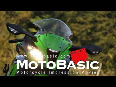 ����ZX-10R 試��������� Kawasaki Ninja ZX-10R ABS (2012) TEST & REVIEW