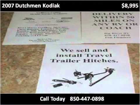 2007 Dutchmen Kodiak Used Cars Blountstown FL