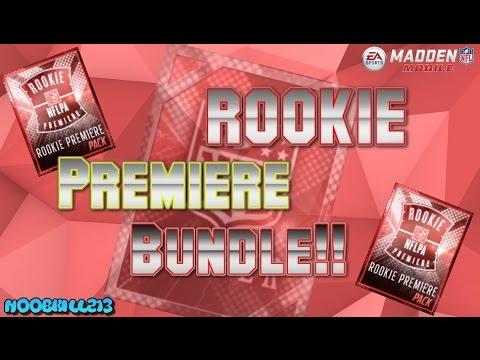 Rookie Premiere BUNDLE!!! Madden Mobile 16