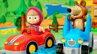 Мультики Маша и Медведь новые серии - Маша и новая машина. Мультфильмы для детей Осень 2016