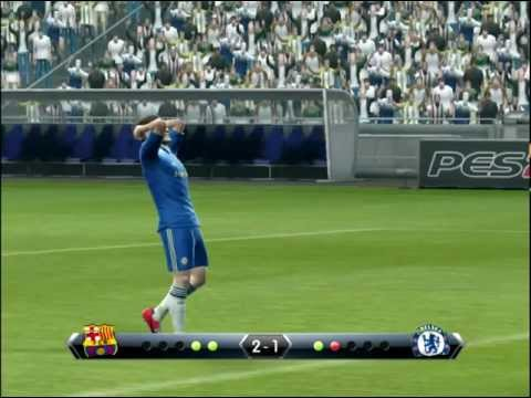 Pes 2013 - Penalty Shootout [barcelona Vs Chelsea] video