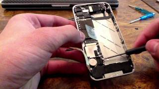 iPhone 4S reasembly (full tutorial) Red conversion