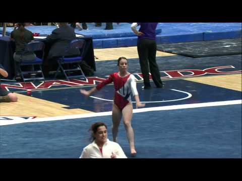 Arizona's Aubree Cristello: Pac-12 Gymnast of the Week (3/20)