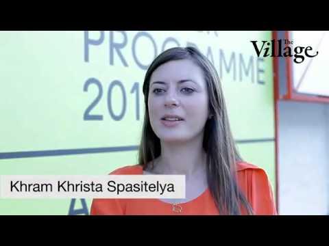 Иностранцы говорят по-русски, забавно