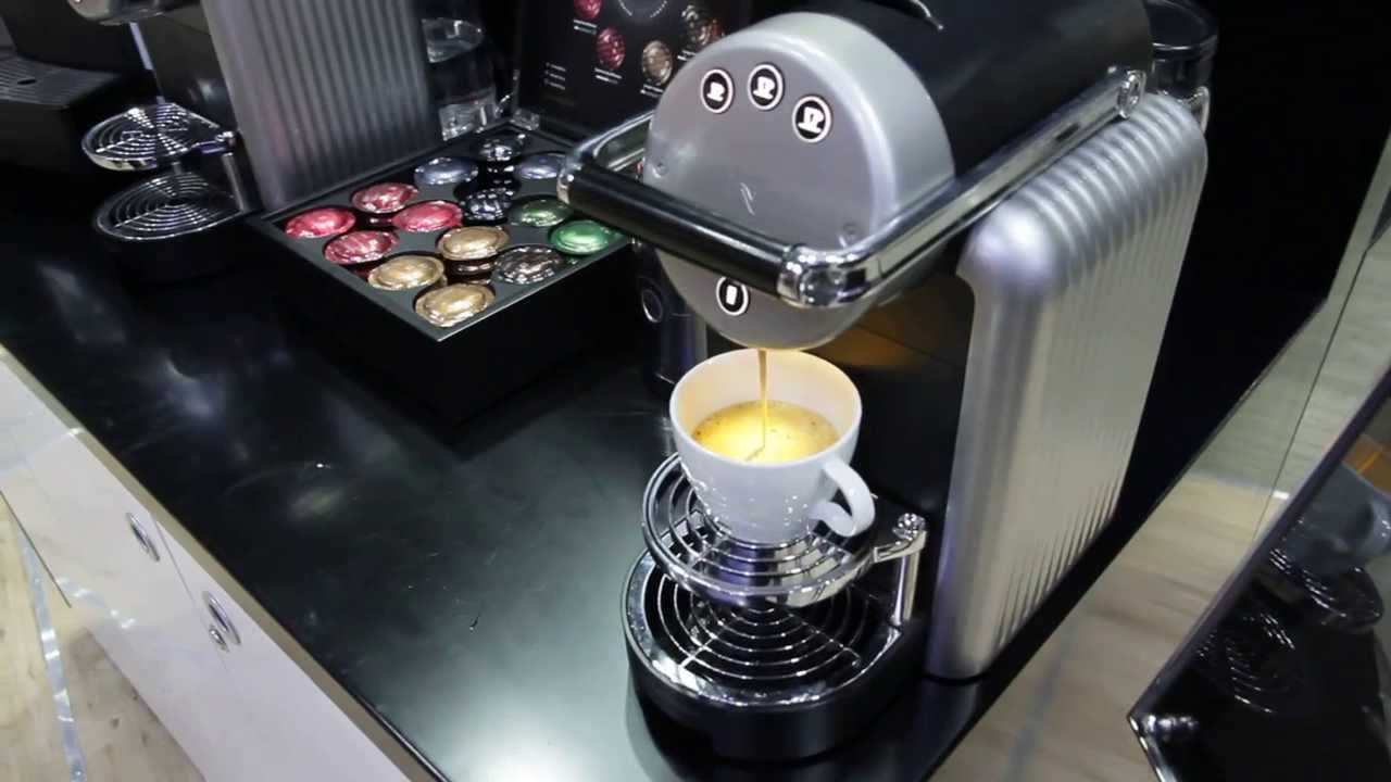 Nespresso zenius youtube for Meuble zenius nespresso