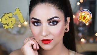 HOW TO LOOK EXPENSIVE WITH ONE DOLLAR MAKEUP GLAM