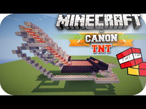 Minecraft | CAÑON De TNT Con CARGADOR AUTOMATICO