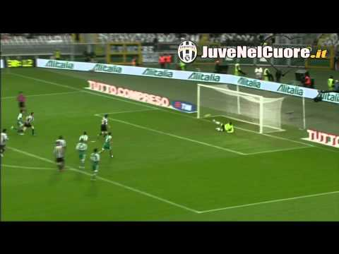 Sintesi Highlights Juventus - Cesena 3-1 (Del Piero, Quagliarella, Iaquinta) 10^ Giornata Serie A
