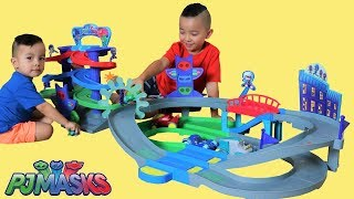 PJ MASKS Toys Playtime Fun With My Little Brother Ckn Toys