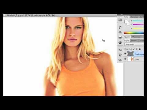 Photoshop Tutorial - Elimina el Efecto Borroso de las Imagenes Aumentando su Calidad ( HD )
