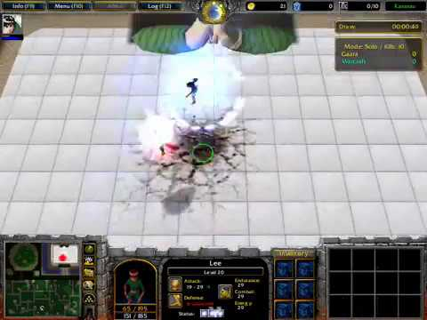 Warcraft 3 Naruto - Lee Jutsu