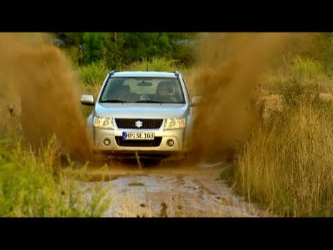 Faszination SUV - Offroad-Test Suzuki Grand Vitara