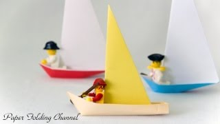 Origami Sailboat