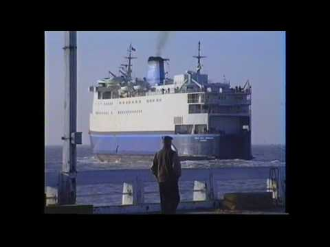 Oostende 1989 - Ferry to Dover - RMT