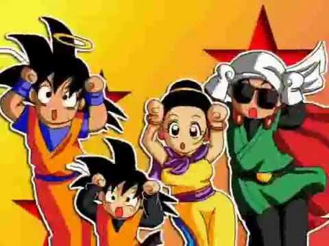 DBZ Dragonball Z Son Goku Family Caramelldansen