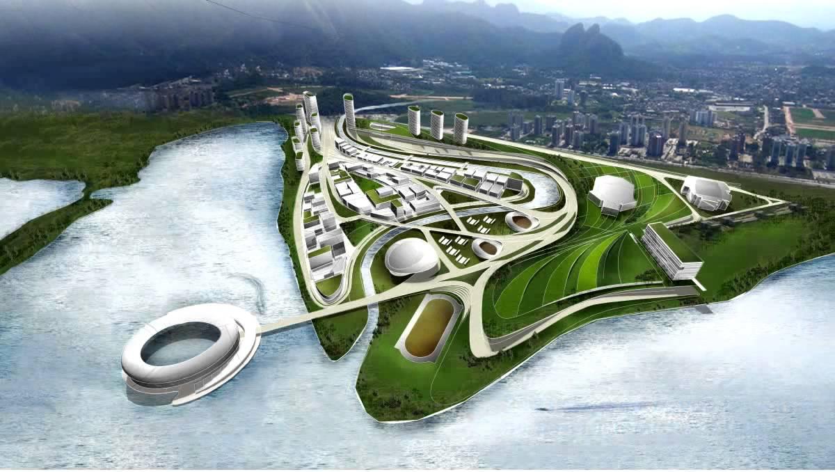 Olympic Village Rio Rio 2016 Olympic Park.mov