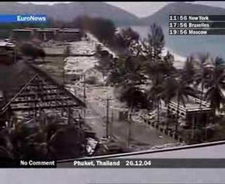 Tsunami Indonesia, sem palavras…