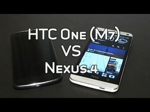 HTC One (M7) vs. Google Nexus 4 comparison