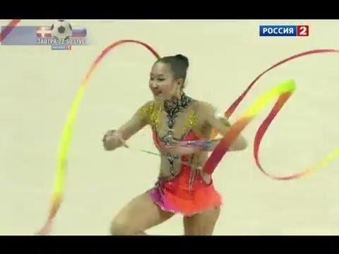 "Алия Гараева - ""Художественная гимнастика. Гран-при"""