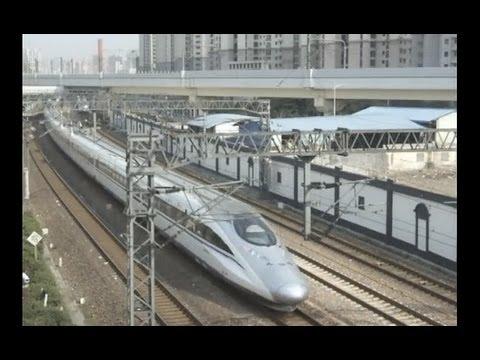 �海�中潭路�����滬寧�������CRH2C�CRH380AL�滬������CRH380A(G7365)������������治�������������京滬��T54(SS7E+25K)���2012年4�2��影�