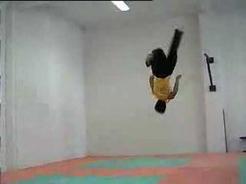 Taekwondo - Fly Kick video