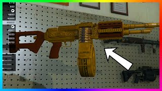 GTA 5 DLC UPDATE - Secret Luxury Camos, Gun Engravings & NEW Weapons! (GTA 5 Lowriders)