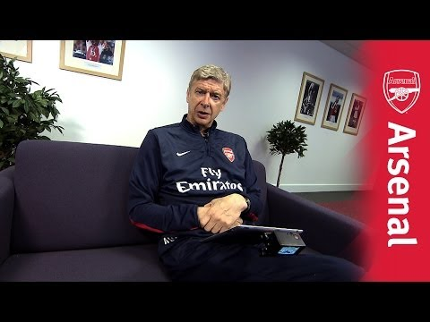 Arsenal Twitter Takeover - Arsene Wenger