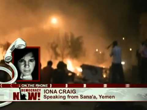 Iona Craig Reports from Sanaa: Clashes Spread Across Yemen Raising Fears of Civil War