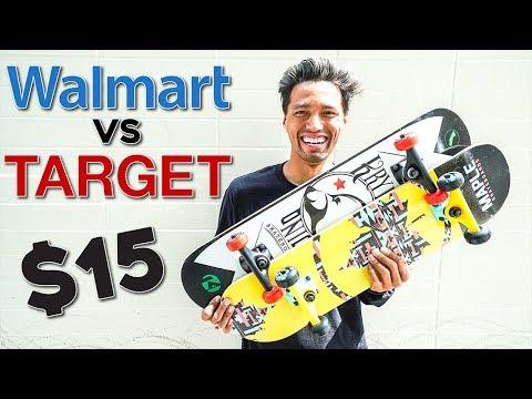 $15 Walmart Skateboard VS $20 Target Board