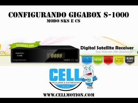 GIGABOX S-1000 - Configurando CS e IKS [ CellMotion ]