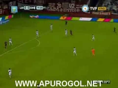 Lanús vs Gimnasia de la Plata (2 - 0) Primera División 2014 Fecha 17