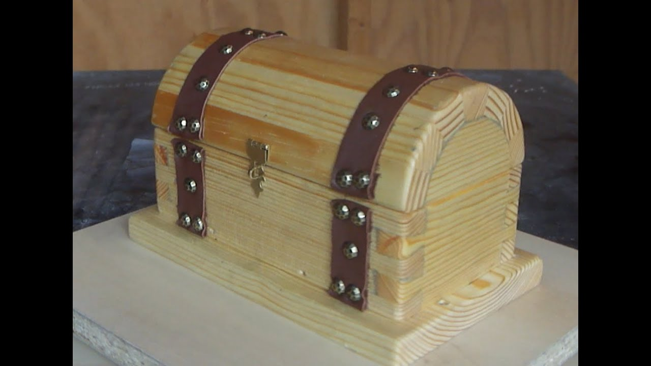 How to make a Pirate Treasure Chest - YouTube