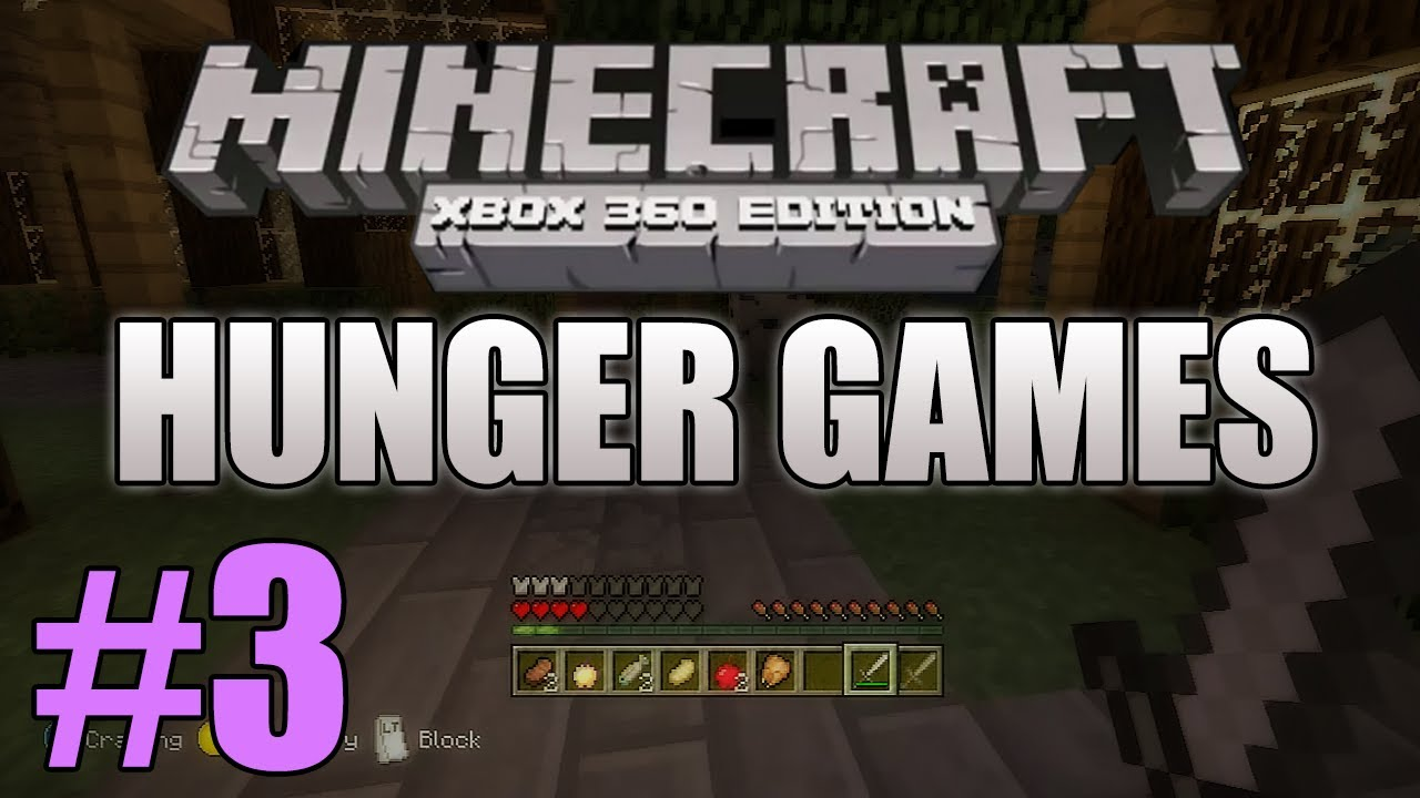Xbox 360 Hunger Games : Minecraft xbox youtuber hunger games taz