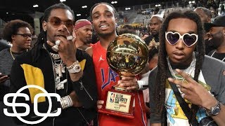 Migos' Quavo scores 19 points to win NBA All-Star Celebrity Game MVP | SportsCenter | ESPN