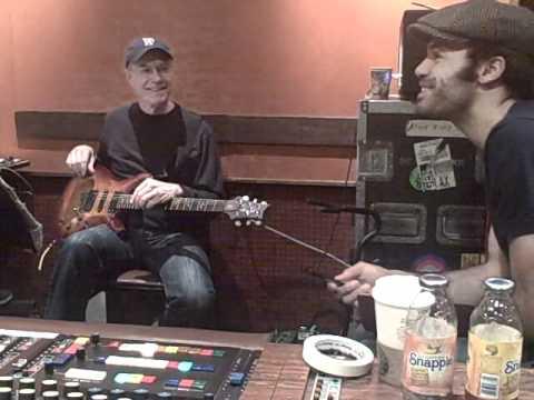 Alain Clark&Dean Parks in the studio - Good Days (recording guitars)