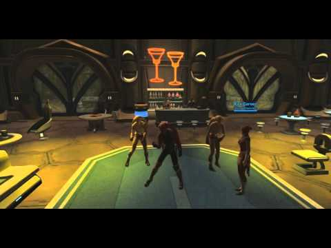 3 male Twi'leks dance