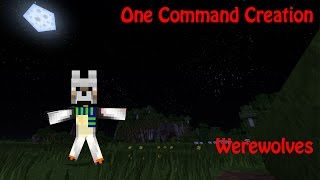 WEREWOLVES: One Command Block Creation: Minecraft