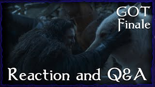 Game of Thrones Series Finale Live Reaction with Shakespeare of Thrones