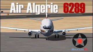 Decisión apresurada - Vuelo del 737 en Algeria (Reconstrucción)