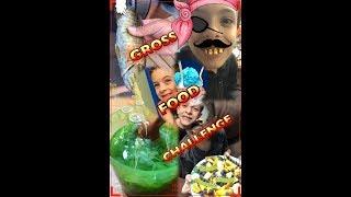 Gross Food Challenge