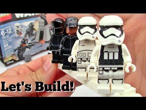 LEGO Star Wars First Order Battle Pack 75132 - Let's Build!