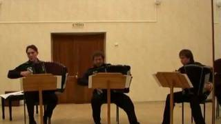 BACH The Art of Fugue 19 Fuga a 3 Soggetti a4 Sergey Naiko and his students