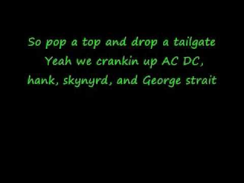 Brantley Gilbert-kick It In The Sticks Lyrics video