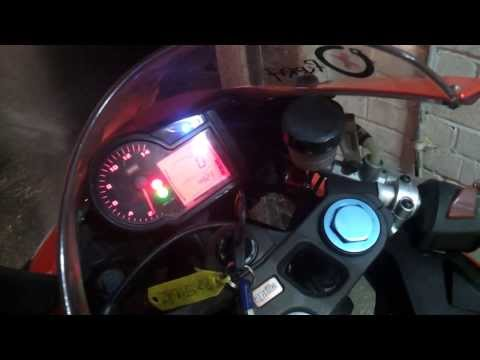 aprilia rs 125 2009 first run