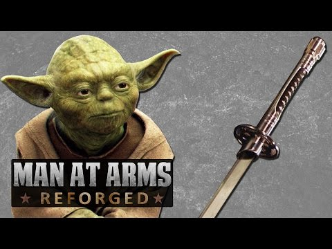 Star Wars Lightsaber Katana - Man At Arms: Reforged video