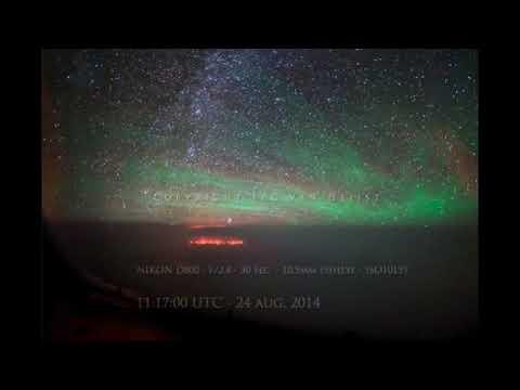 Pilotos avistan luces misteriosas sobre el Océano Pacífico