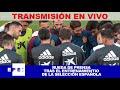 Rueda de prensa de la Selección Española de Fútbol