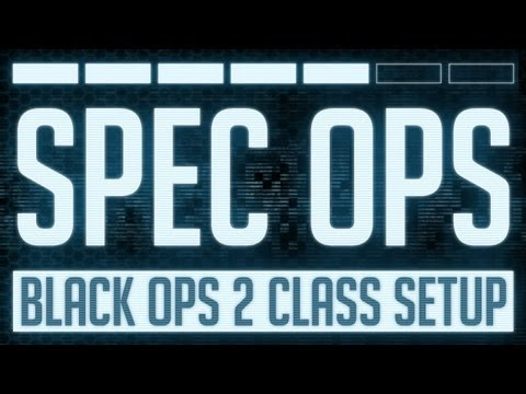 Spec Ops : Black Ops 2 M27 Class Setup