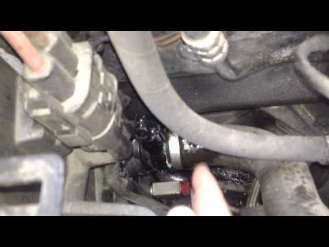 BMW E65 E66 Lower Coolant Hose Leak FIX Sensor O-Ring Problem